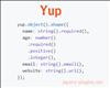 Yup – JavaScript Object Schema Validator